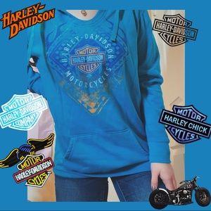 Harley Davidson Hoodie 💙💙
